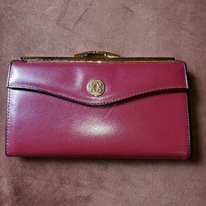 Nwt Bosca vintage clutch wallet authentic